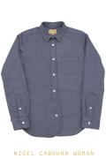 ナイジェルケーボン(NIGEL CABOURN WOMAN)のブリティッシュオフィサーズシャツ(オックス)