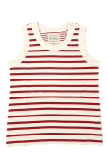 【NIGEL CABOURN  WOMAN】 SAILOR TANK TOP / セーラータンクトップ