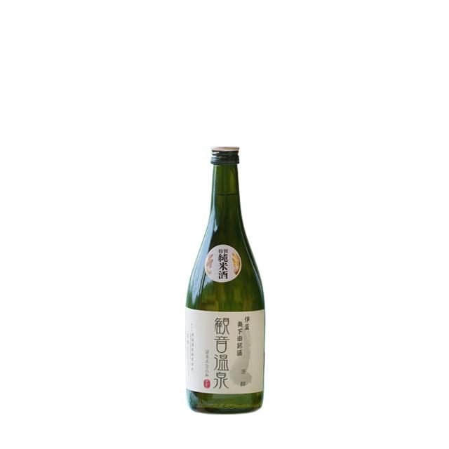 純米酒 観音温泉 芳醇720ml