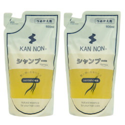 温泉化粧品 【定期購入】観音温泉シャンプー詰替え用600ml 2コセット