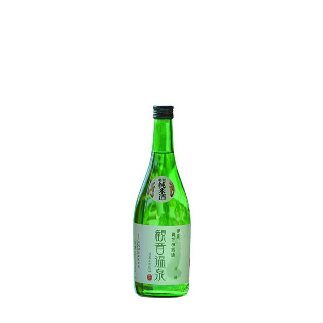 特別純米酒 観音温泉 淡麗 720ml