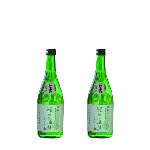 特別純米酒 観音温泉 淡麗 720ml 2本セット