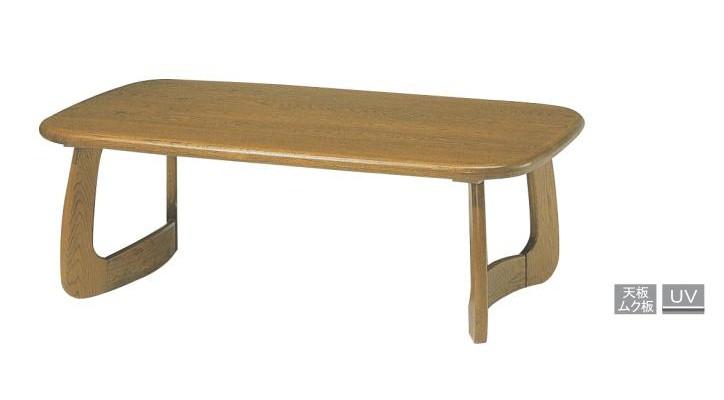 浜本工芸 No.1500  リビングテーブル T-1500 (1100×600) ナラムク材 【送料無料】