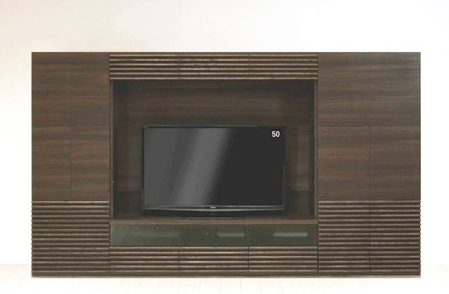 壁面収納 アコール(Accorr) リエルマルシゲ 300cm幅  6点セット 【送料無料】