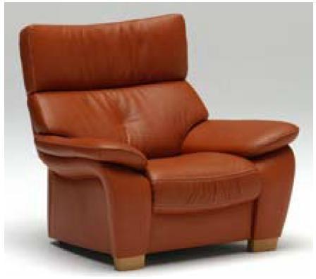 カリモク(karimoku) 本革張(外側:合成皮革) 肘掛椅子(1Pソファ) ZT73 【送料無料】