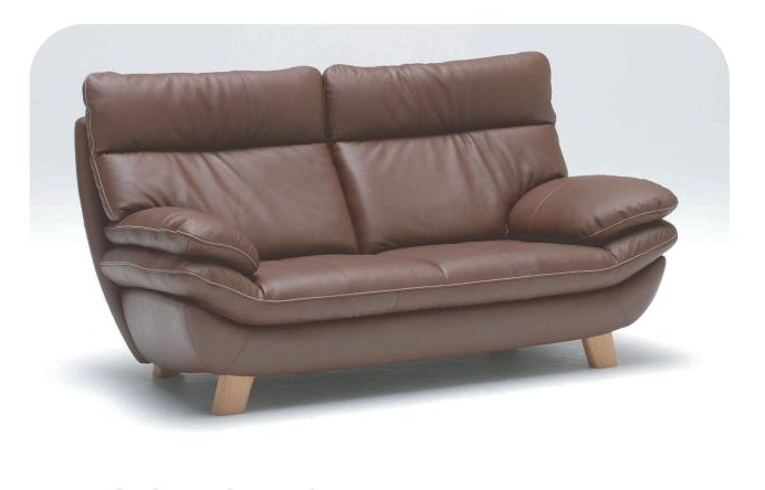 カリモク(karimoku) 本革張(外側:合成皮革)2人掛椅子ロング(2Pロング) ZT83 【送料無料】