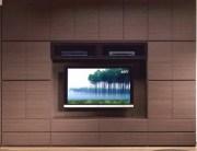 パモウナ【Pamouna】 壁面収納 SWシリーズ 320cm幅 壁掛けTV金具・上置付 7点セット 【送料無料】