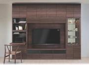 壁面収納 アコール(Accorr) リエルマルシゲ 280cm幅  TV壁掛金具・上置付 10点セット 【送料無料】