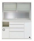 パモウナ【Pamouna】ハイカウンター食器棚 NRシリーズ  NRL/NRR-1600R 【送料無料】