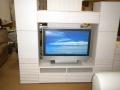 壁面収納家具セット デュオ(DUO) ホワイト色  幅200cm    リエルマルシゲ  アウトレット品   【送料別途】
