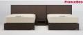 フランスベッド ネクストランディ 901F SC シングル3点セット ナイトテーブル付き【送料無料】
