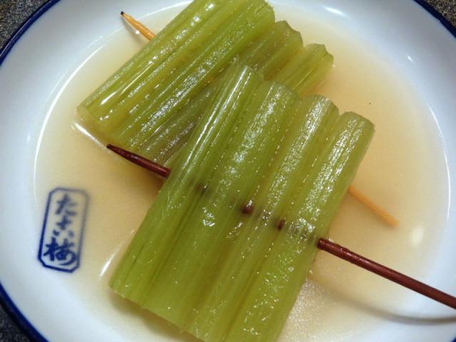 蕗(ふき)の関東煮(かんとだき/おでん)
