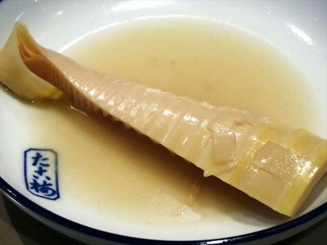 淡竹(はちく)の関東煮(おでん)
