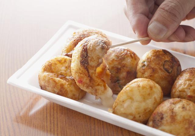 「やまちゃんの冷凍たこやき」[ホームパーティーセット 36個入り](たこやき6個×2パック)(もちチーズ6個×2パック)(ベーコン6個×2パック)※全て国内工場で手焼きしております