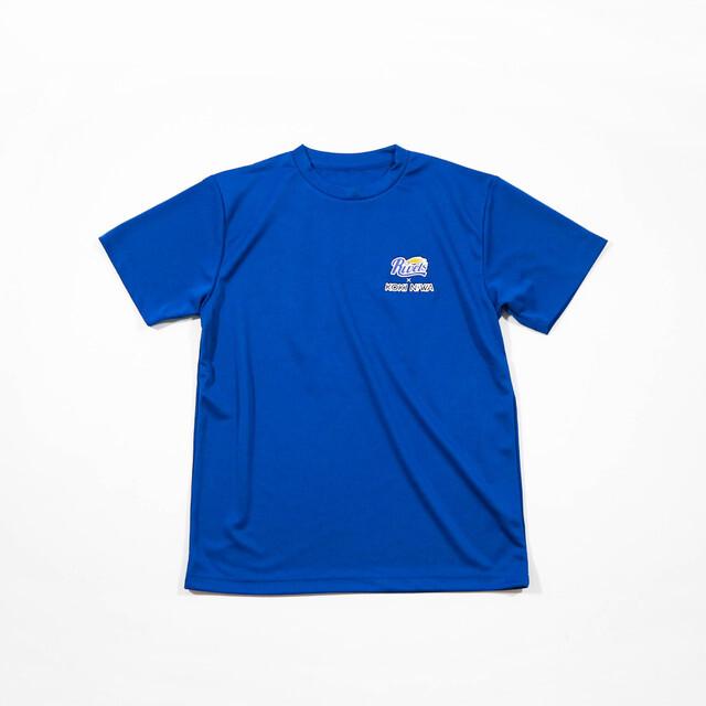 【丹羽孝希グッズ】KOKI NIWA×岡山リベッツコラボTシャツ(ブルー)