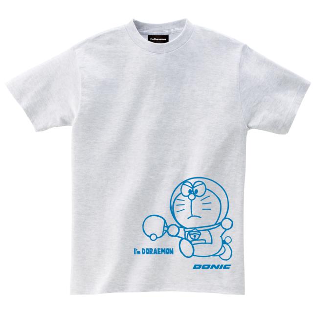 I'm DORAEMON コットン 卓球Tシャツ A