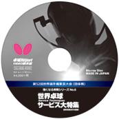 強くなる実戦シリーズNo.6 世界卓球サービス大特集(ブルーレイ) 〔45分〕