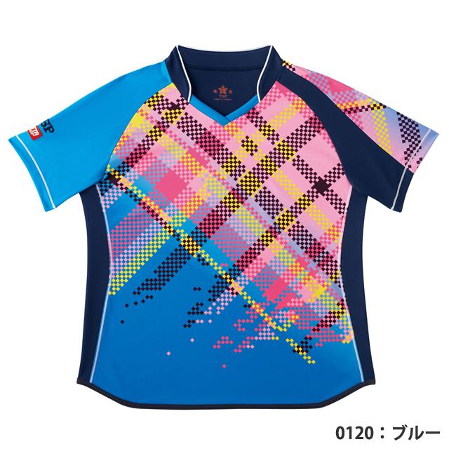 レディスピクセルシャツ