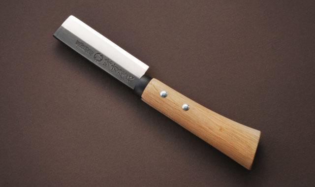 竹割鉈 両刃 黒打ち 105mm