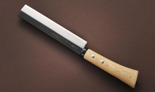 竹割鉈 両刃 黒打ち 210mm