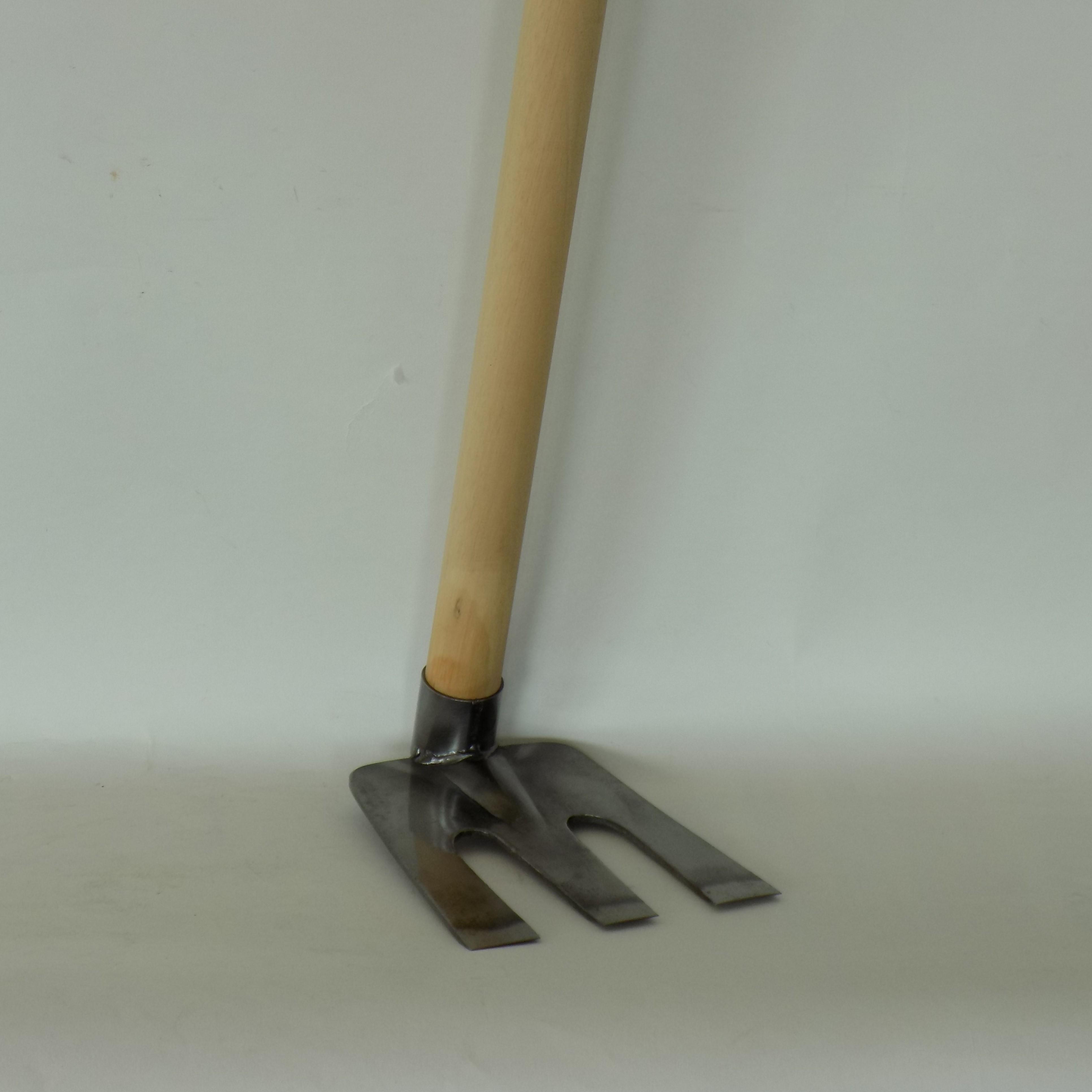職人おすすめの鍬 【オールマイティ備中鍬 ステンレス】平成で人気の家庭菜園用鍬