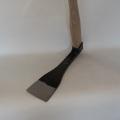 【 特注バチ型タケノコ鍬】バチ型のタケノコ収穫道具 シノギ無しタイプ