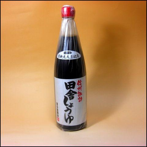 信州諏訪 田舎醤油