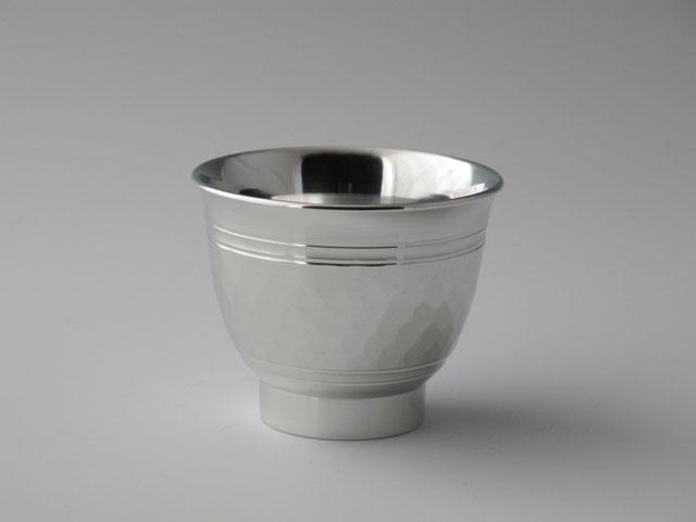 錫光、酒器、碗形ぐい呑み、ツチメ1、