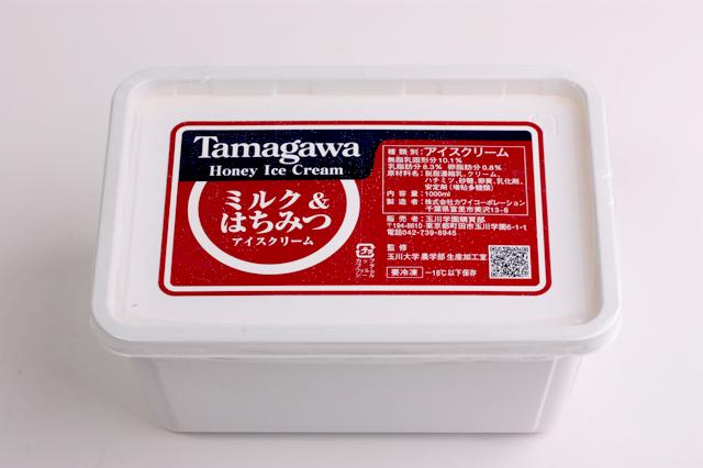 たまがわハニーアイスクリーム ミルク&はちみつ ■ホームサイズ(1000ml)
