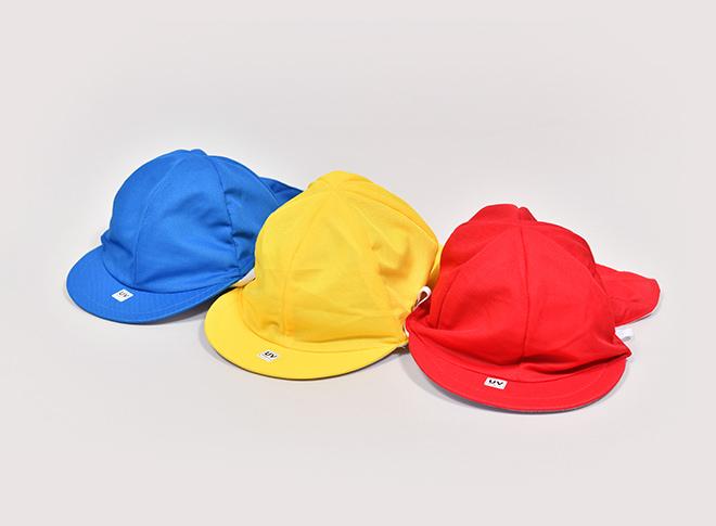 カラー帽子(タレ付着脱式)