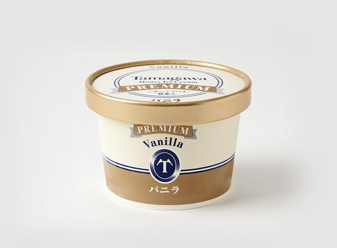 たまがわハニーアイスクリーム プレミアムバニラ