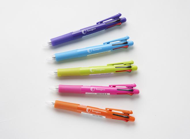 4色ボールペン+シャープペン