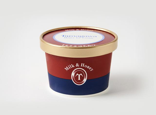 たまがわハニーアイスクリーム ミルク&はちみつ
