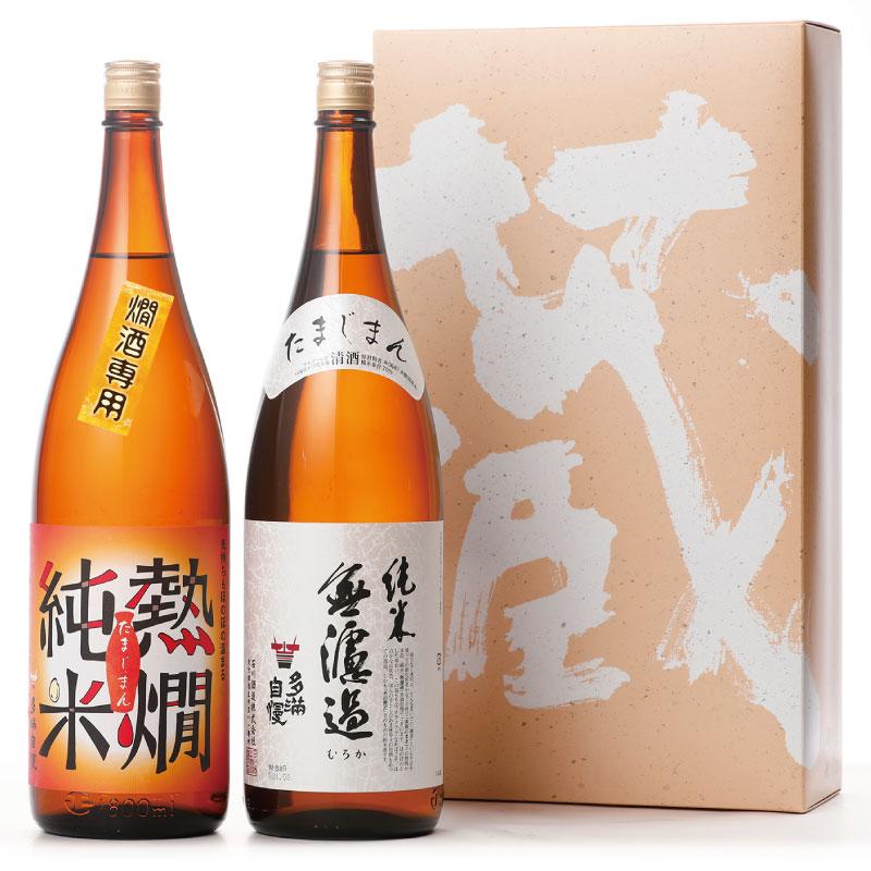 純米セット 2019 【化粧箱入】 1800ml 2本セット