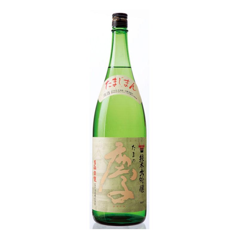 多満自慢 純米大吟醸 「たまの慶」(化粧箱なし) 1800ml