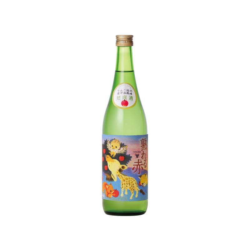 多満自慢 熟れる赤 純米吟醸熟成酒 720ml