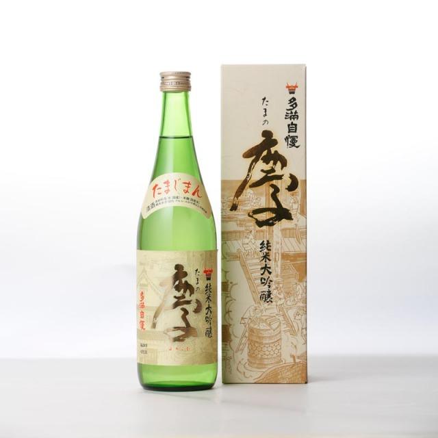 多満自慢 純米大吟醸「たまの慶」(化粧箱入り) 720ml