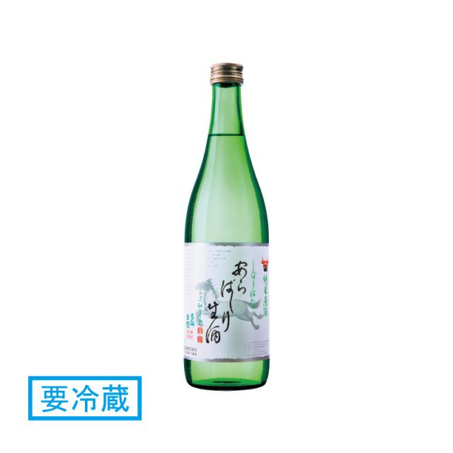 多満自慢 純米生原酒 あらばしり 720ml