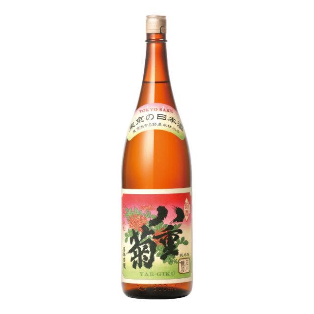 「八重菊熟成酒」 1800ml(あきる野市産 「コシヒカリ」 100%使用)