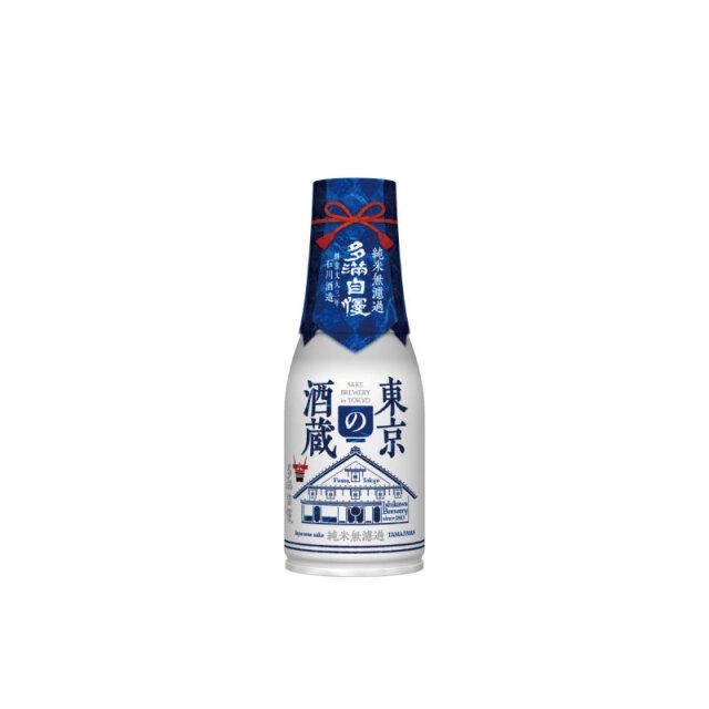 多満自慢 「東京の酒蔵」 純米無濾過 180ml