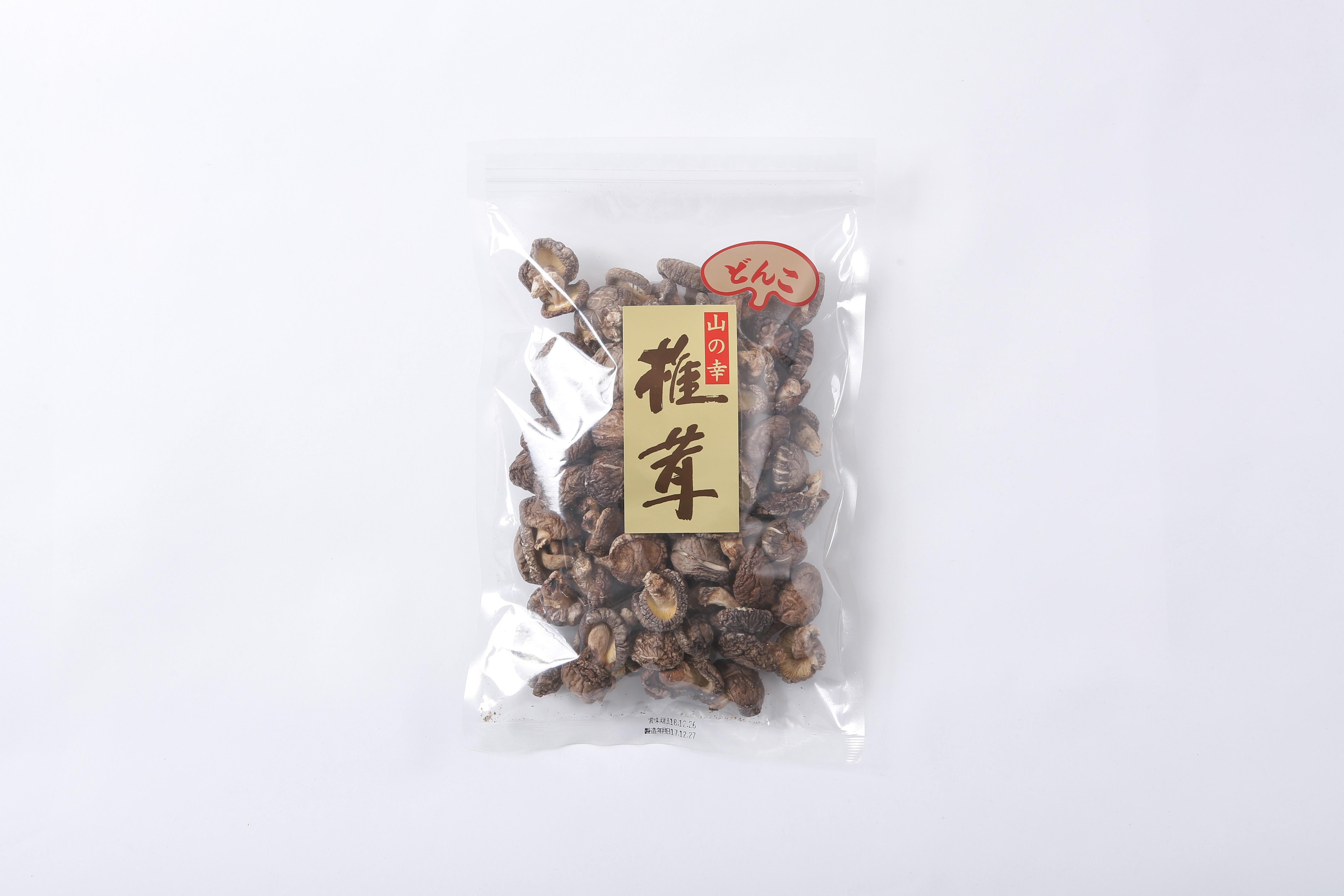 九州産 原木栽培 乾しいたけ 小粒どんこ 袋入り