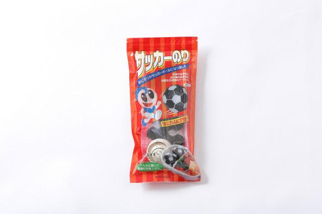 お弁当専用海苔 サッカーボール