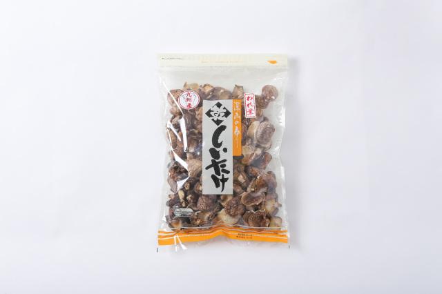 九州産 原木栽培 乾しいたけ われ葉 袋入り