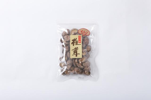 九州産 原木栽培 乾しいたけ 中玉どんこ 袋入り