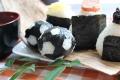 【食べれるサッカーボール】丸いサッカーのり!お弁当専用海苔「20枚焼のり」