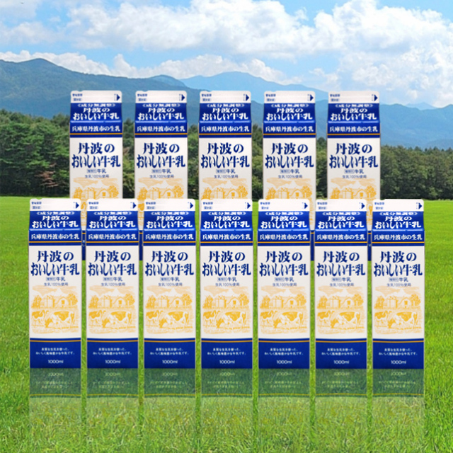 牛乳L 12本入りセット