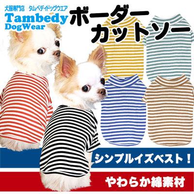ボーダーカットソー★シャツ