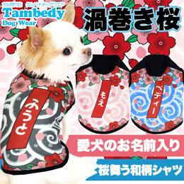 渦巻き桜★シャツ