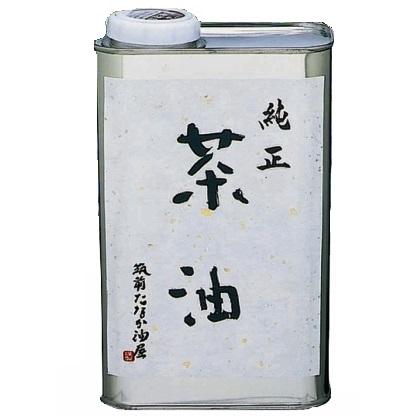 純正茶油 缶900g