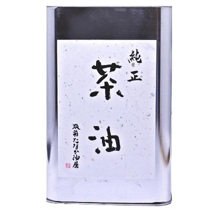 純正茶油 缶1800g